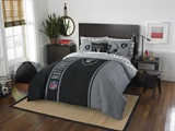"Oakland Raiders ""Soft & Cozy"" Full Comforter Set"