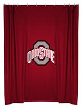 Ohio St Buckeyes  Shower Curtain