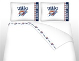 Oklahoma City Thunder Micro Fiber Sheet Set King