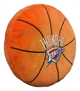 Oklahoma City Thunder NBA Basketball Shaped 3D Pillow