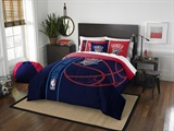 Oklahoma City Thunder NBA Full Comforter and Sham Set