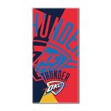 "Oklahoma City Thunder NBA ""Puzzle"" Oversized Beach Towel"