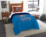 "Oklahoma City Thunder NBA ""Reverse Slam"" Twin Comforter"