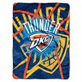 "Oklahoma City Thunder NBA ""Shadow Play"" Raschel Throw"