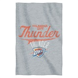 Oklahoma City Thunder NBA Sweatshirt Throw