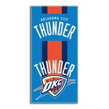 "Oklahoma City Thunder NBA ""Zone Read"" Beach Towel"
