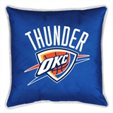 Oklahoma City Thunder Sidelines Toss Pillow