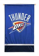 Oklahoma City Thunder Sidelines Wall Hanging
