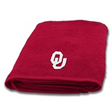 Oklahoma Sooners Applique Bath Towel