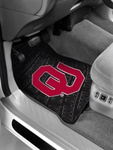 Oklahoma Sooners Car Floor Mat Set