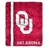"Oklahoma Sooners ""Jersey"" Sherpa Throw"
