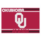 Oklahoma Sooners Large Tufted Rug