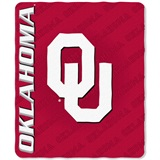 "Oklahoma Sooners ""Mark Repeat"" Fleece Throw"