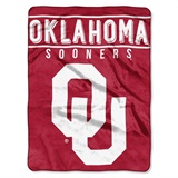 "Oklahoma Sooners NCAA ""Basic"" Raschel Throw"