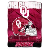 "Oklahoma Sooners ""Overtime"" Micro Raschel Throw"