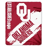 "Oklahoma Sooners ""Painted"" Fleece Throw"
