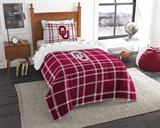 "Oklahoma Sooners ""Soft & Cozy"" Twin Comforter Set"