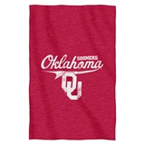 Oklahoma Sooners Sweatshirt Throw