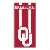 "Oklahoma Sooners ""Zone Read"" Beach Towel"