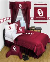 Oklahoma U Sooners Locker Room Bed In A Bag