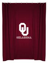 Oklahoma U Sooners  Shower Curtain