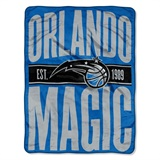"Orlando Magic NBA ""Clear Out"" Micro Raschel Throw"