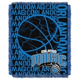 "Orlando Magic NBA ""Double Play"" Woven Jacquard Throw"