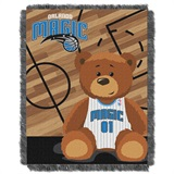"Orlando Magic NBA ""Half-Court"" Baby Woven Jacquard Throw"