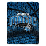 "Orlando Magic NBA ""Redux"" Micro Raschel Throw"