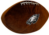Philadelphia Eagles Football Shaped 3D Pillow