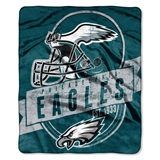 "Philadelphia Eagles ""Grand Stand"" Raschel Throw"