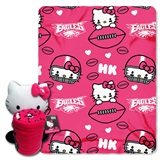 Philadelphia Eagles Hello Kitty Hugger and Fleece Throw Set