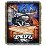 "Philadelphia Eagles ""Home Field Advantage"" Woven Tapestry Throw"