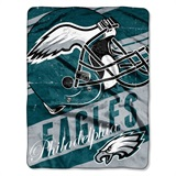 "Philadelphia Eagles NFL ""Deep Slant Micro Raschel Throw"