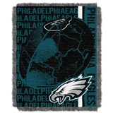 "Philadelphia Eagles NFL ""Double Play"" Woven Jacquard Throw"