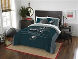"Philadelphia Eagles NFL ""Draft"" Full/Queen Comforter Set"