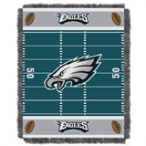 "Philadelphia Eagles NFL ""Field"" Baby Woven Jacquard Throw"