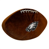 Philadelphia Eagles NFL  Football Shaped 3D Plush Pillow