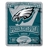 "Philadelphia Eagles NFL ""Marquee"" Fleece Throw"