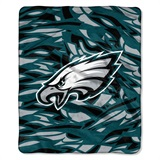 "Philadelphia Eagles NFL ""Quicksnap"" Raschel Throw"
