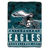 "Philadelphia Eagles NFL ""Stacked"" Silk Touch Throw"