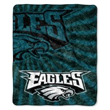 "Philadelphia Eagles NFL ""Strobe"" Sherpa Throw"