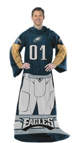 "Philadelphia Eagles NFL ""Uniform"" Adult Comfy Throw"