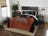 "Philadelphia Flyers NHL ""Draft"" Full/Queen Comforter Set"
