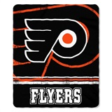 "Philadelphia Flyers NHL ""Fade Away"" Fleece Throw"