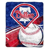 "Philadelphia Phillies  MLB ""Big Stick"" Sherpa Throw"