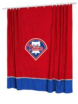 Philadelphia Phillies Sidelines Shower Curtain