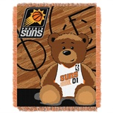 "Phoenix Suns NBA ""Half-Court"" Baby Woven Jacquard Throw"