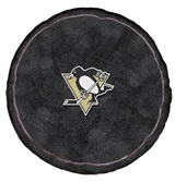 Pittsburgh Penguins NHL Hockey Puck Shaped 3D Pillow