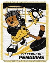 "Pittsburgh Penguins NHL ""Score Baby""Baby Woven Jacquard Throw"